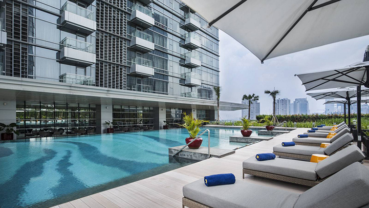 Pool at Ascott Kuningan Jakarta Apartment