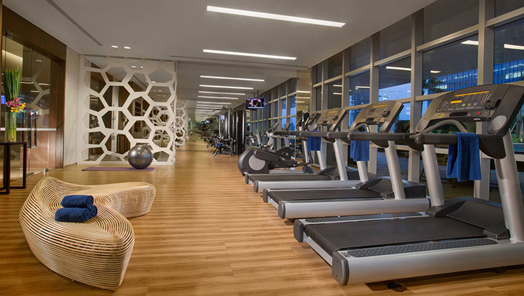 Gym at Ascott Kuningan Jakarta Apartment
