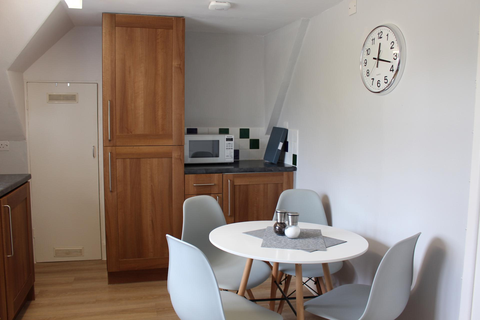 Dining area at Chilton Serviced Apartments