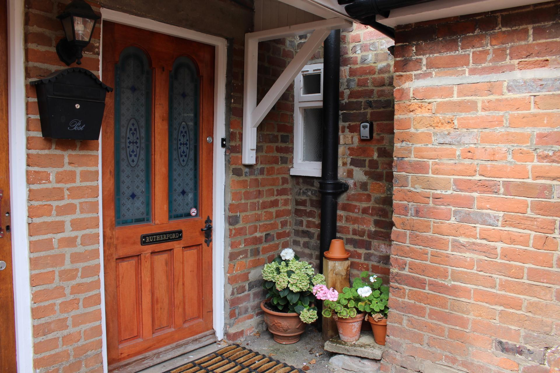 Door at Chilton Serviced Apartments