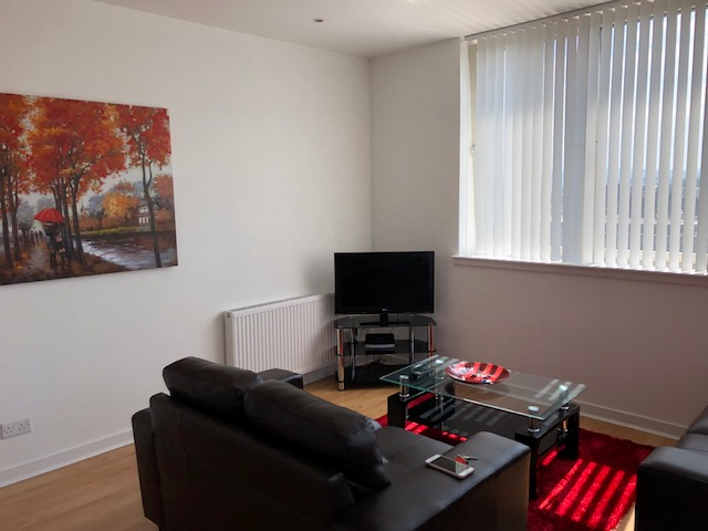 TV at Oswald Street Serviced Apartments