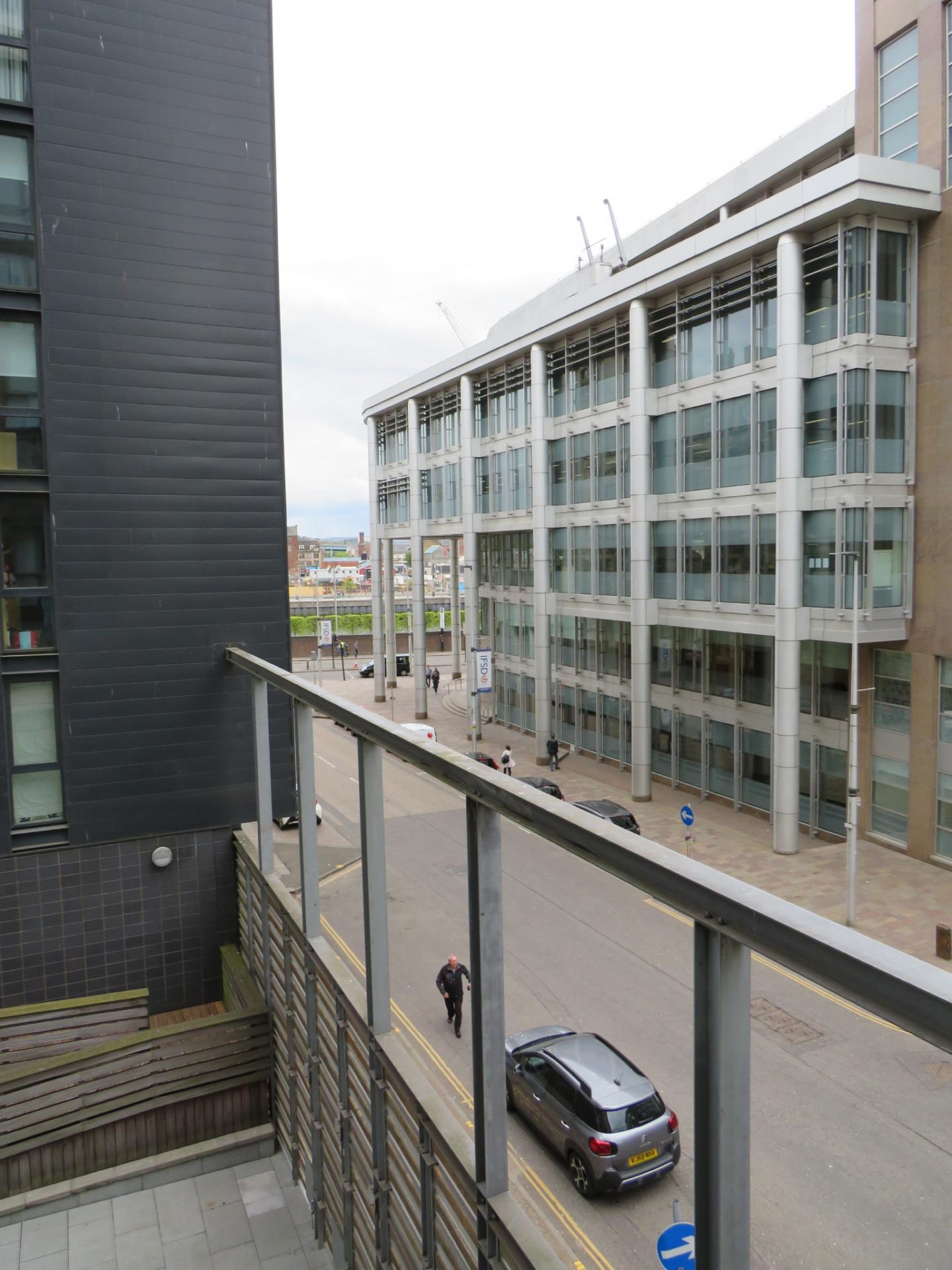 Balcony at Oswald Street Serviced Apartments
