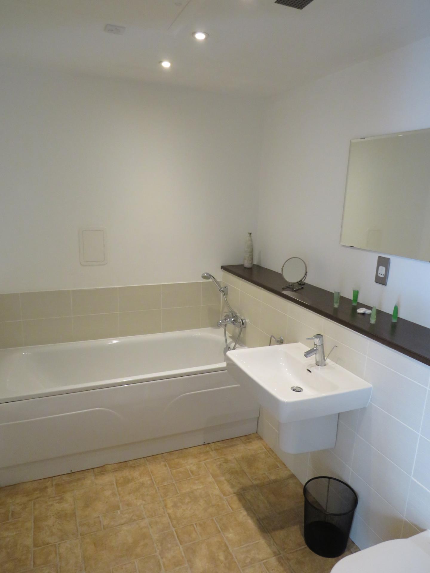 Bath at Oswald Street Serviced Apartments