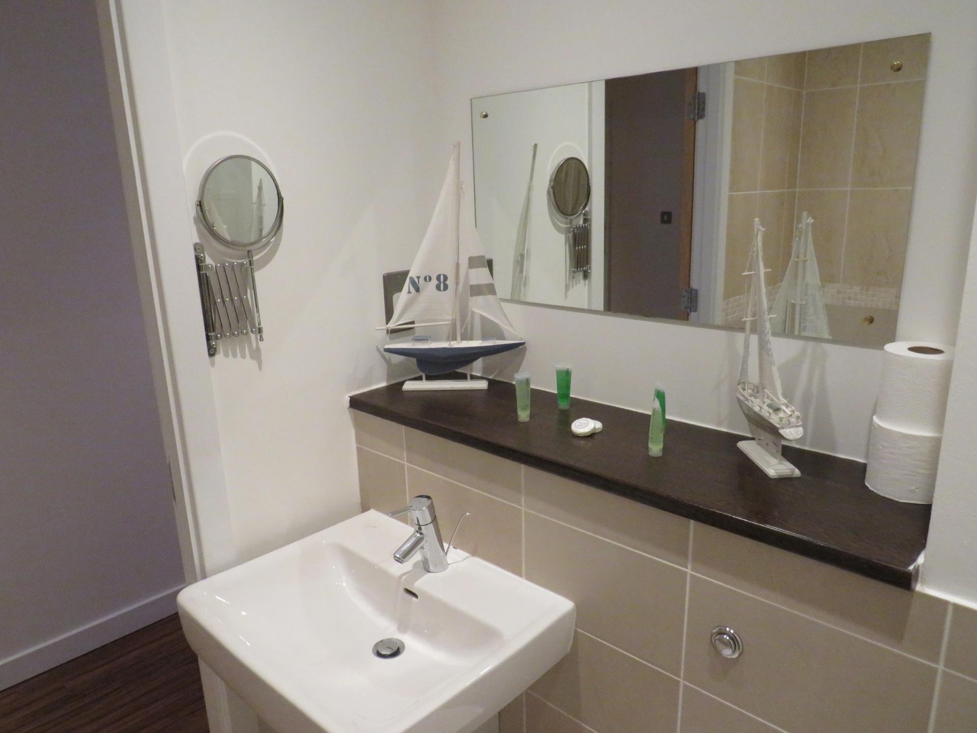 Bathroom at Oswald Street Serviced Apartments