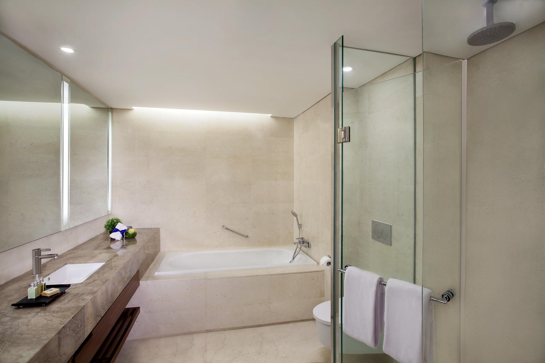 Bathroom at Ascott Sudirman Jakarta Apartments
