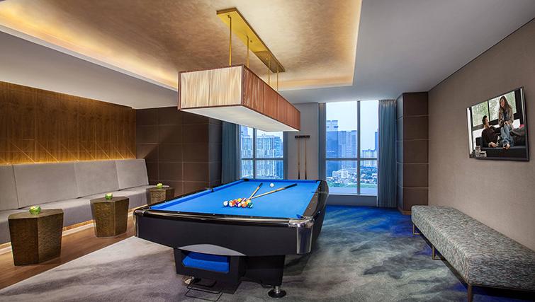 Snooker table at Ascott Sudirman Jakarta Apartments