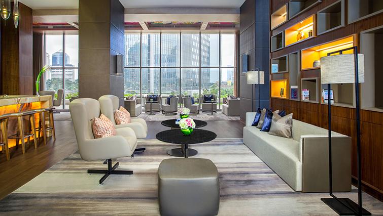 Lobby at Ascott Sudirman Jakarta Apartments