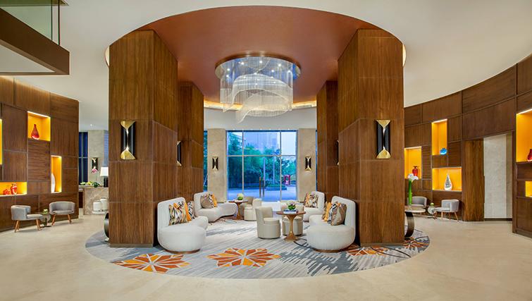 Reception at Ascott Sudirman Jakarta Apartments