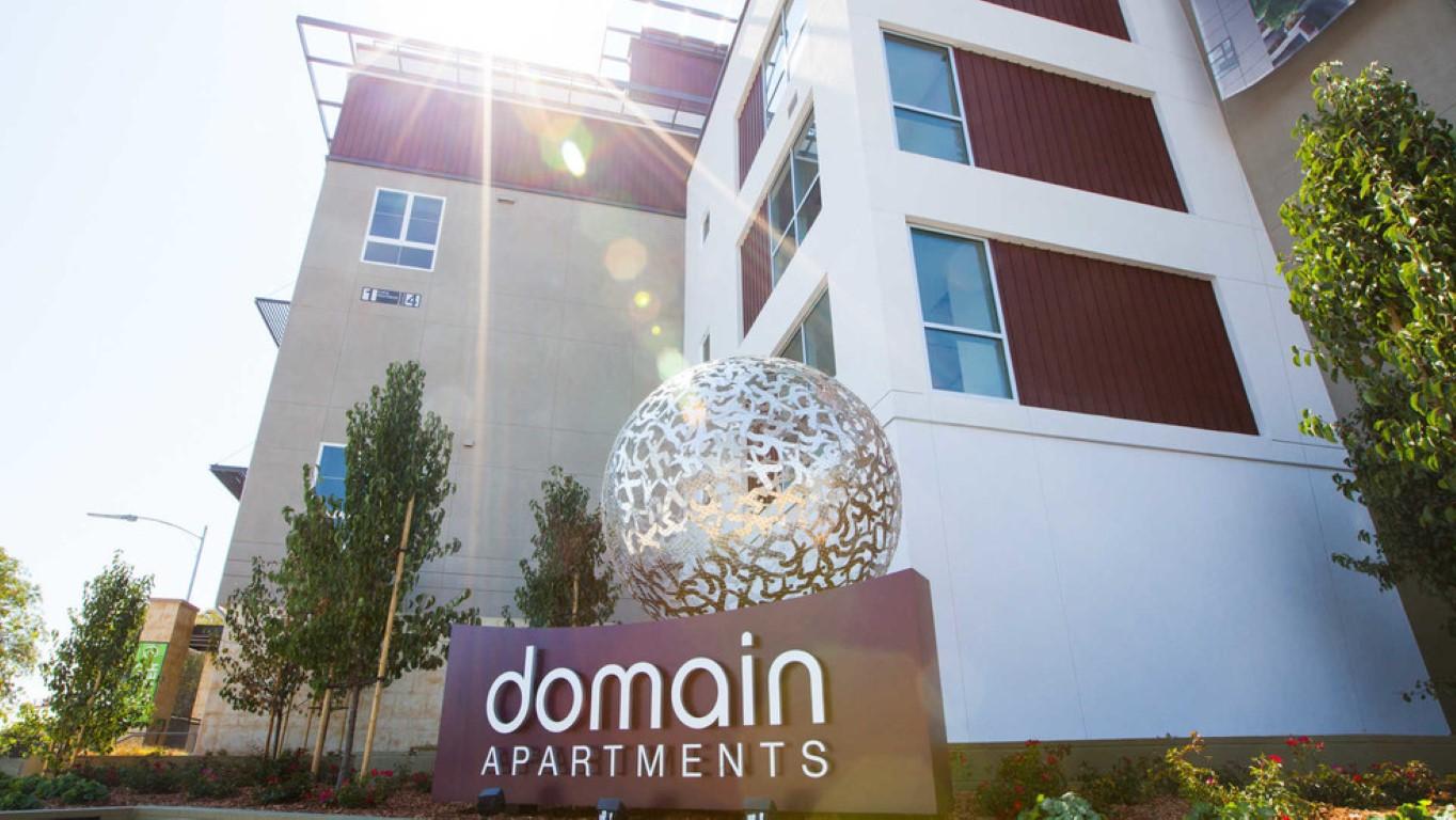 Exterior at The Domain Apartments, Renaisance, San Jose
