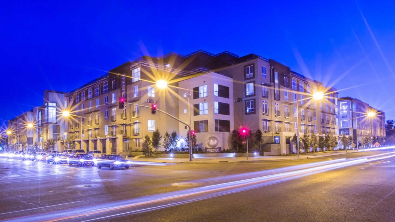 Building at The Domain Apartments, Renaisance, San Jose