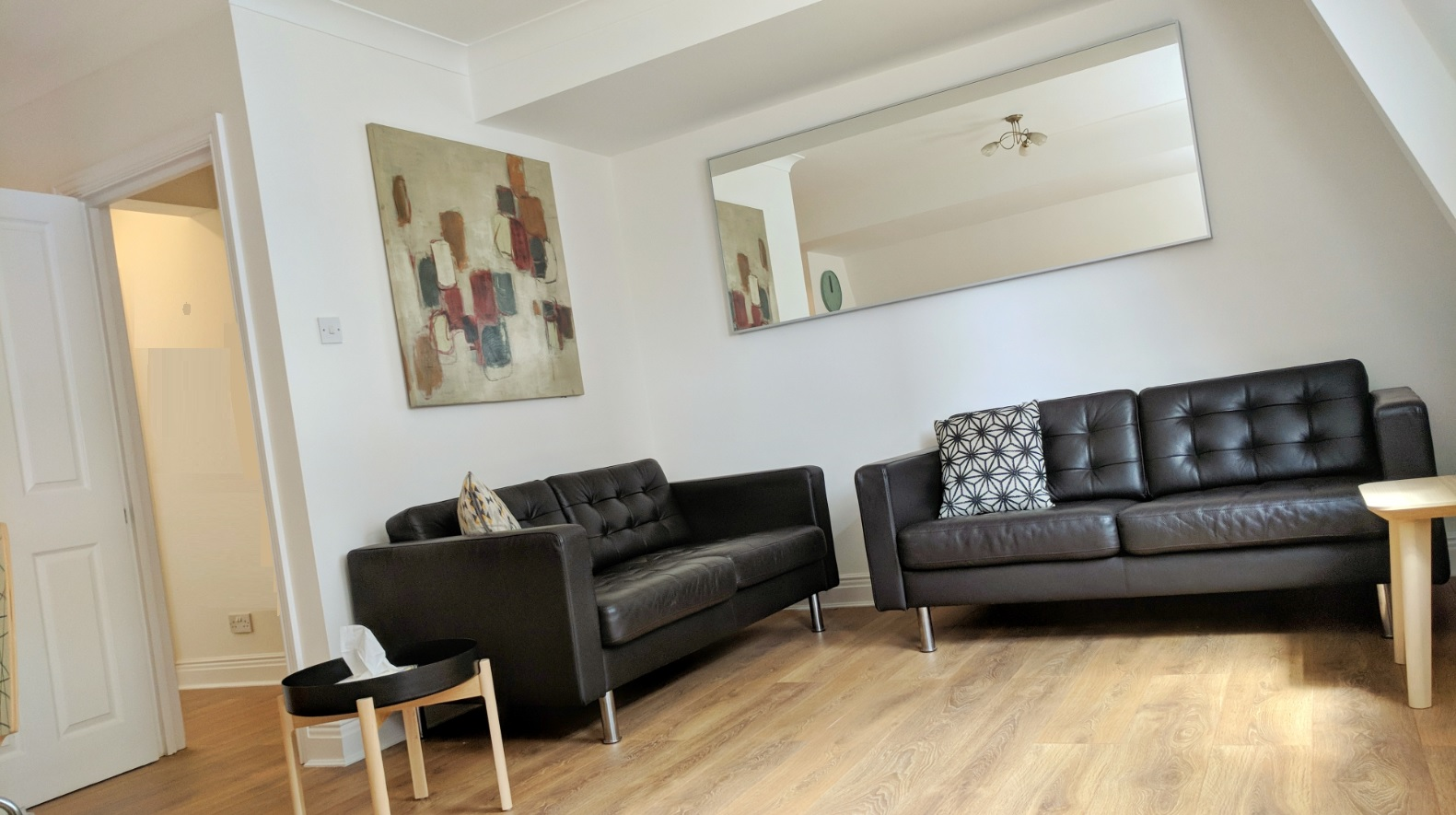 Spacious living area at Ringers Road Apartment
