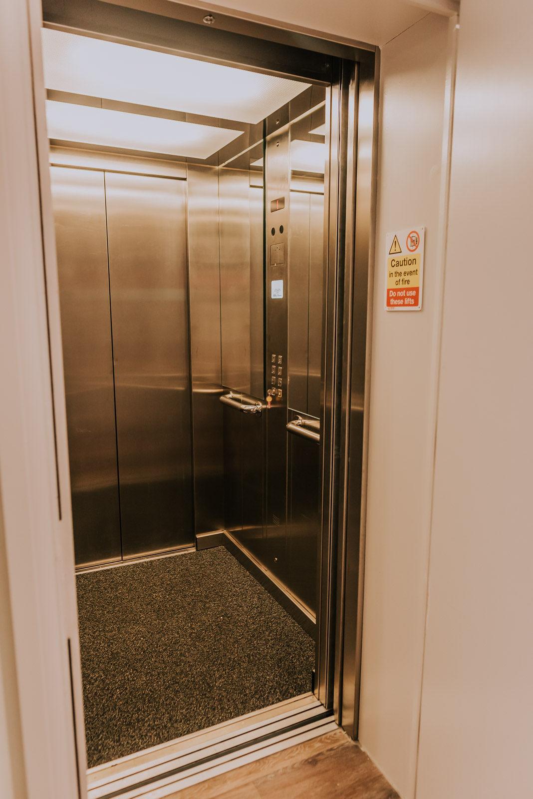 Lift at Cavendish House