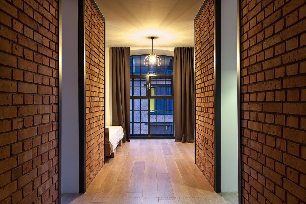 Hallway at Tymienieckiego Apartments