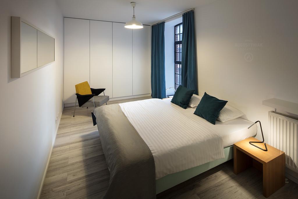 Bedroom at Tymienieckiego Apartments