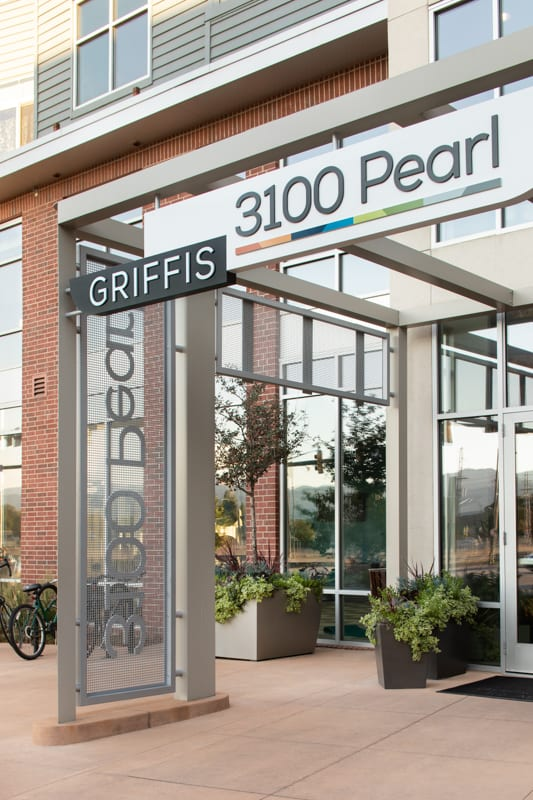 Exterior at Griffis 3100 Pearl Apartment