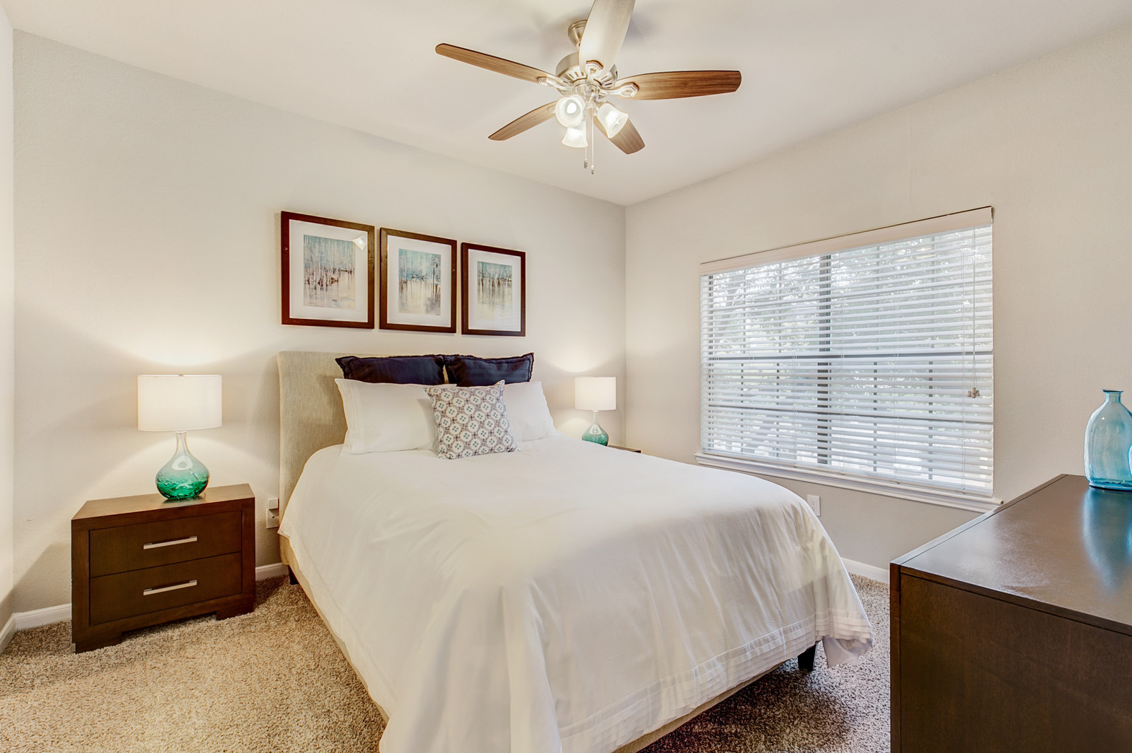 Bedroom at Rivera at West Village Apartments