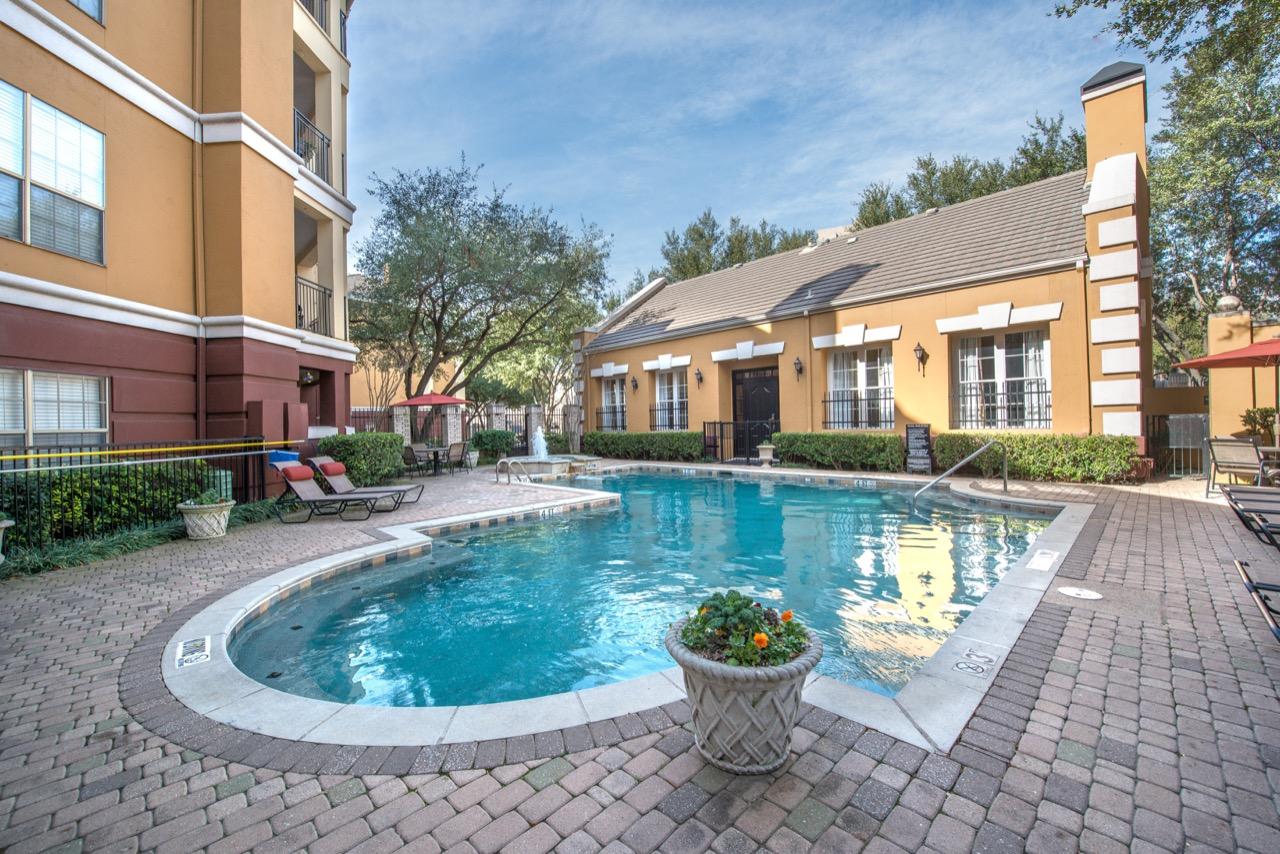 Pool at Rivera at West Village Apartments