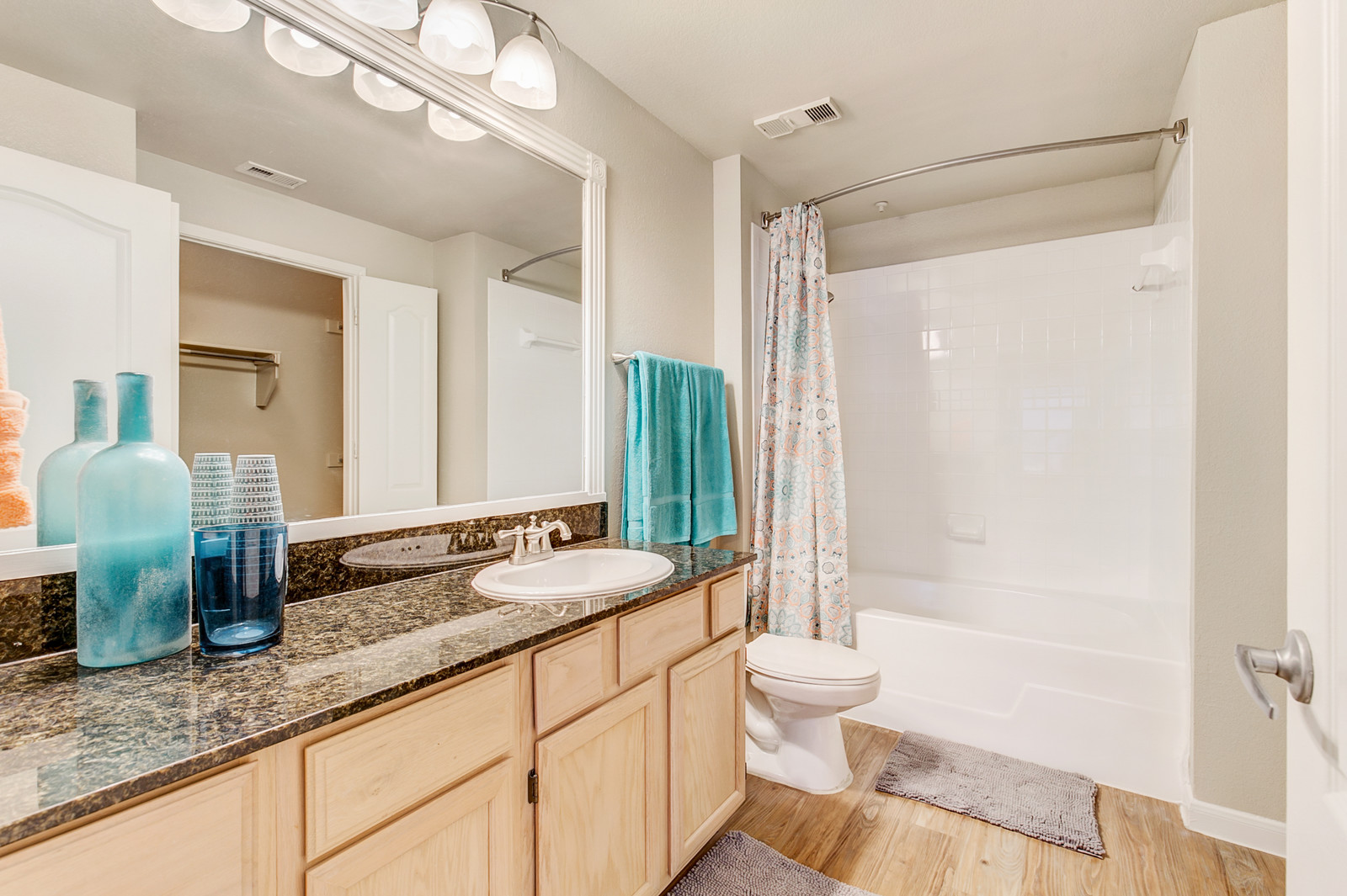 Bathroom at Rivera at West Village Apartments
