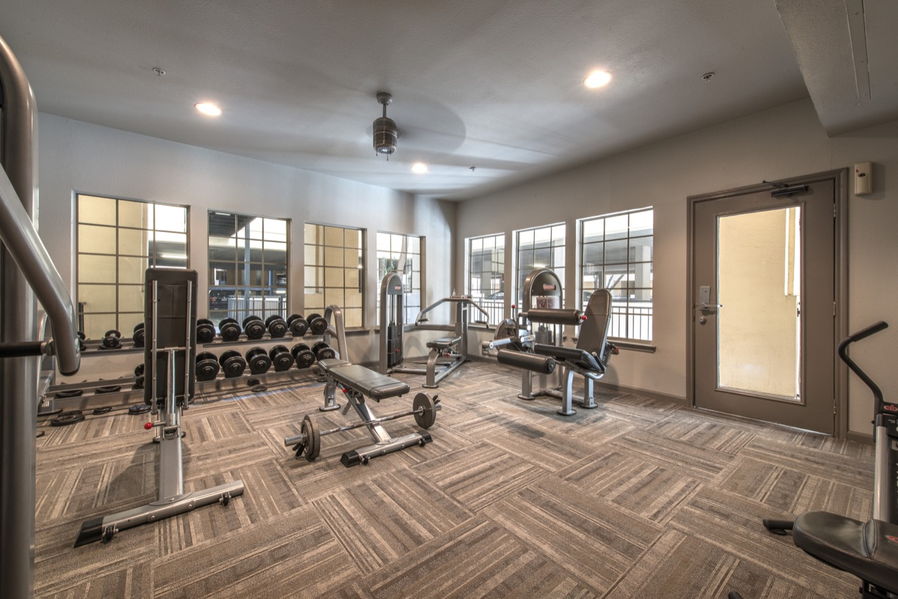 Fitness Centre at Rivera at West Village Apartments