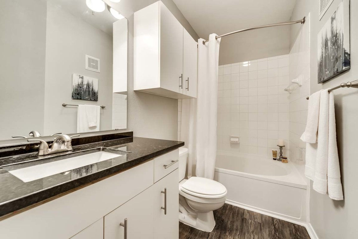Bathroom Hue at Cityplace Apartment