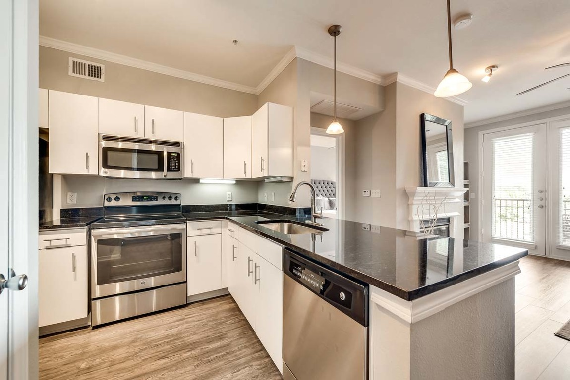 Kitchen at Hue at Cityplace Apartment