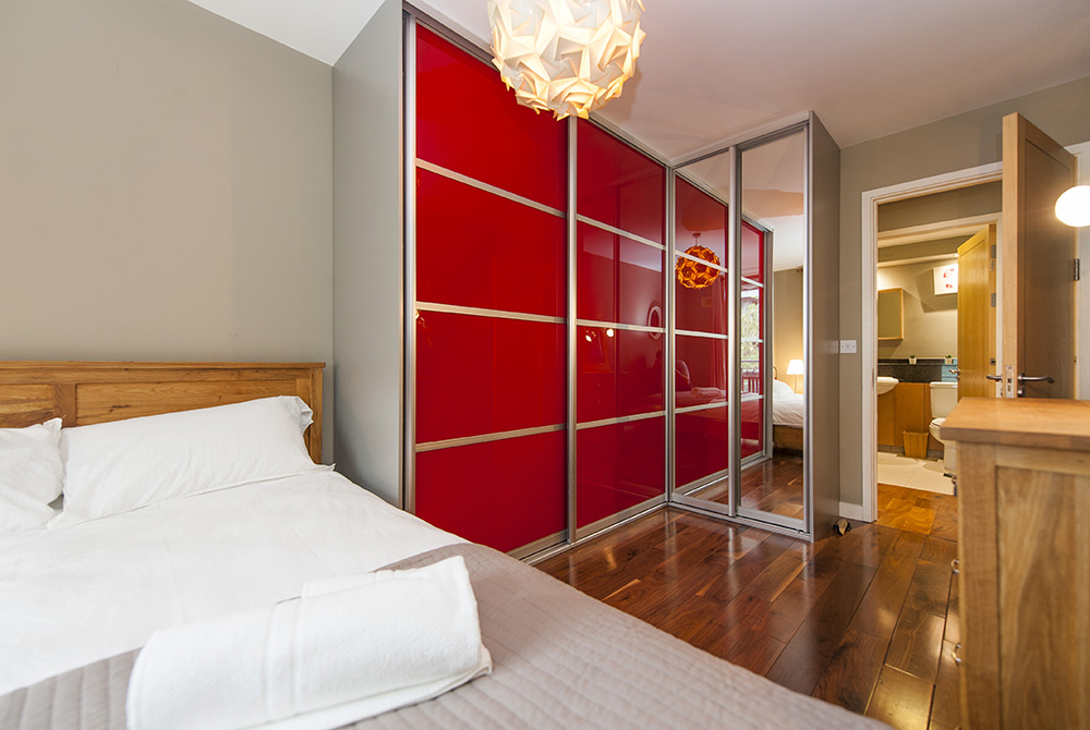 Bedroom at The Dickens Serviced Apartment