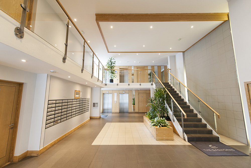 Public Stairway at The Dickens Serviced Apartment