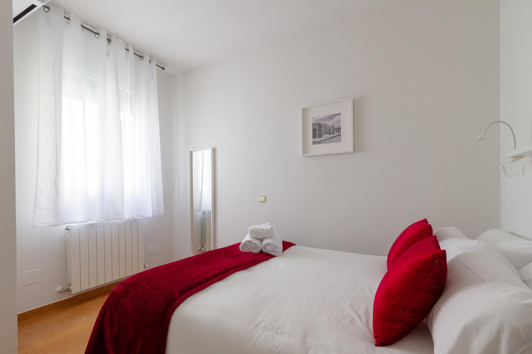 Bedroom at Fernan Gonzalez Apartments
