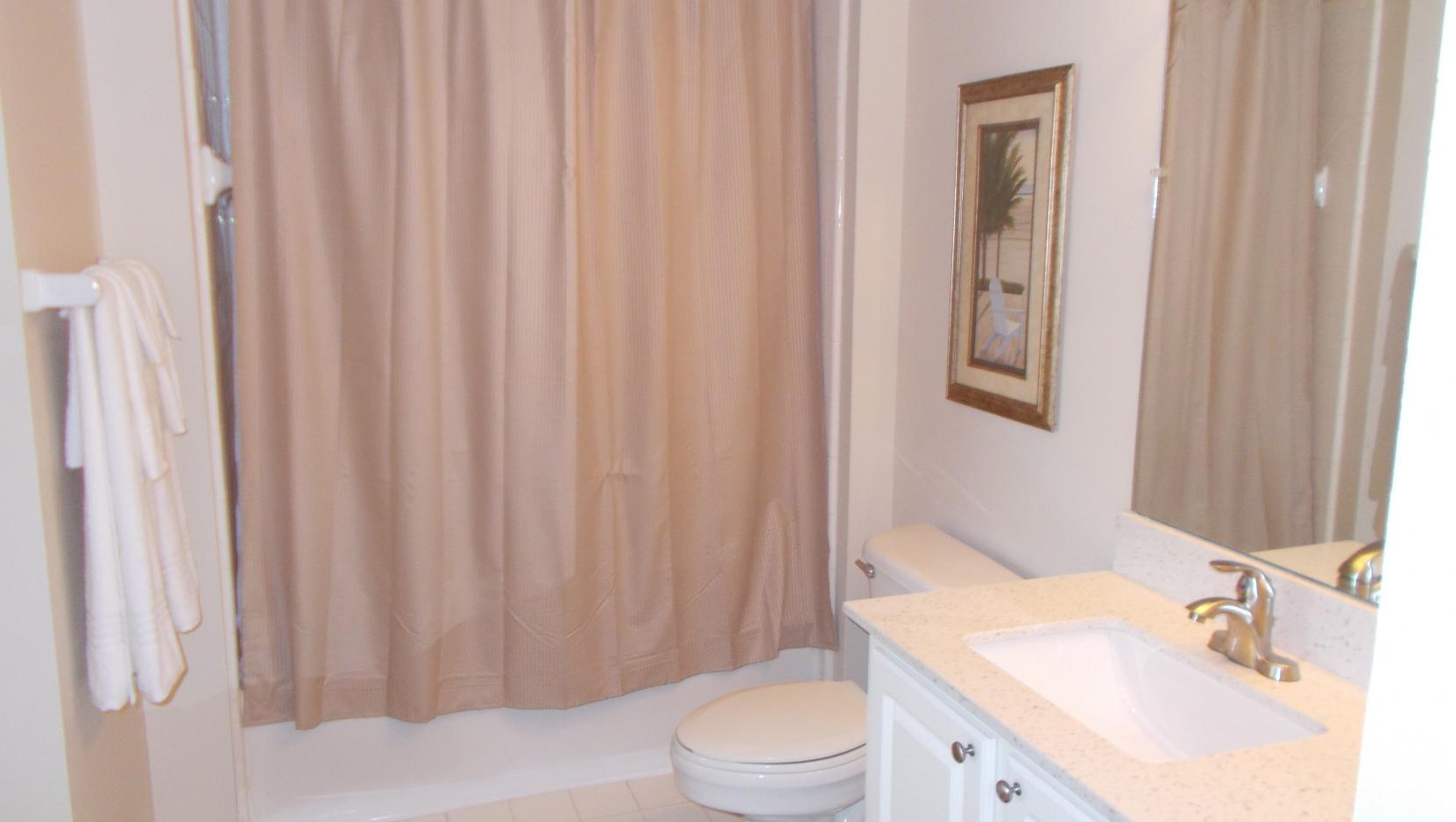 Bathroom at Notting Hill Apartments