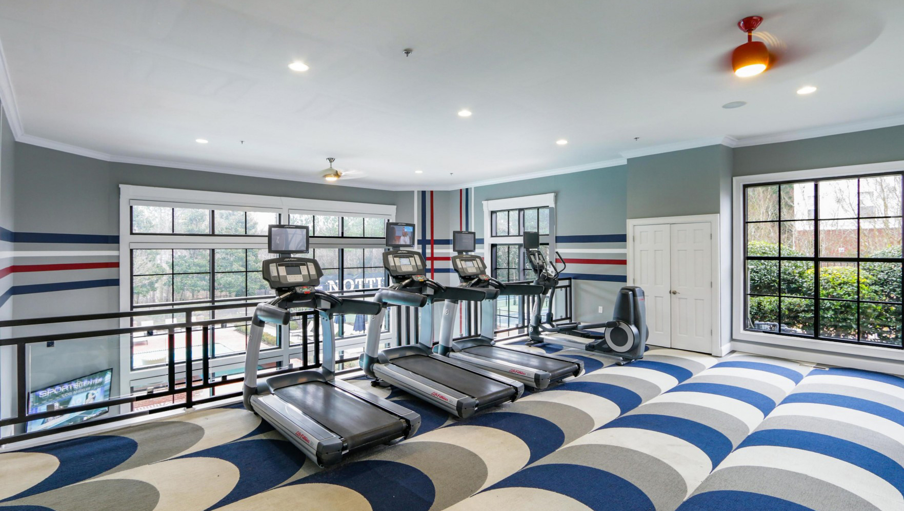 Fitness centre at Notting Hill Apartments