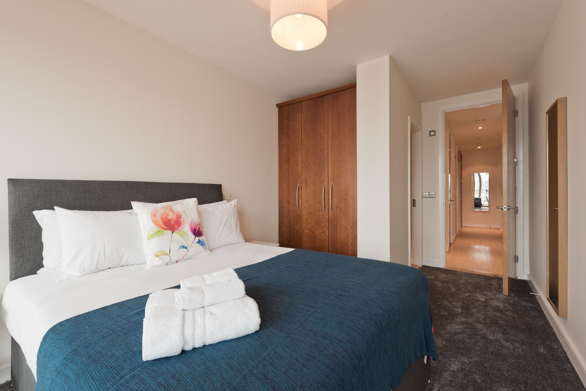 Bedroom at Hanover Dock Apartments