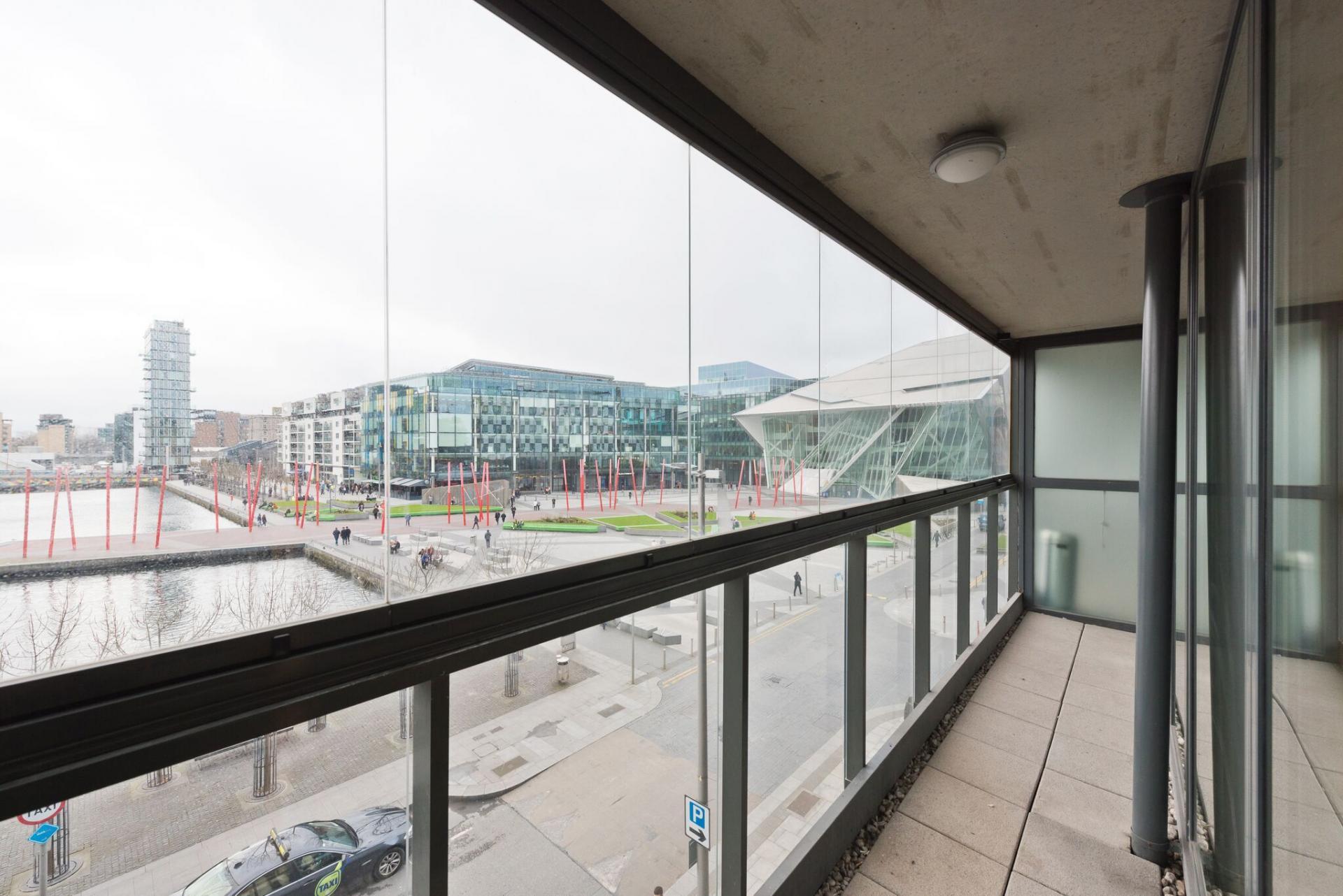 Balcony at Hanover Dock Apartments