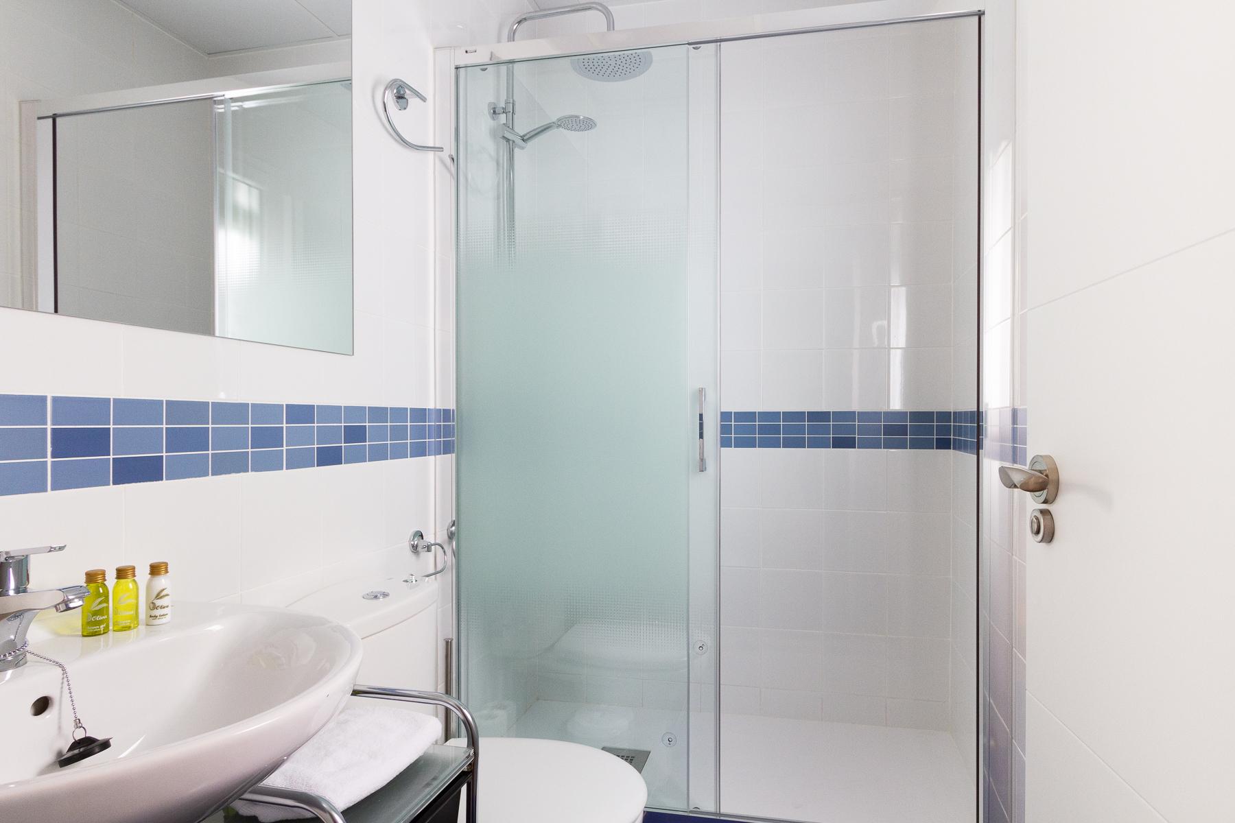 Bathroom at the Calle Ibiza Apartments