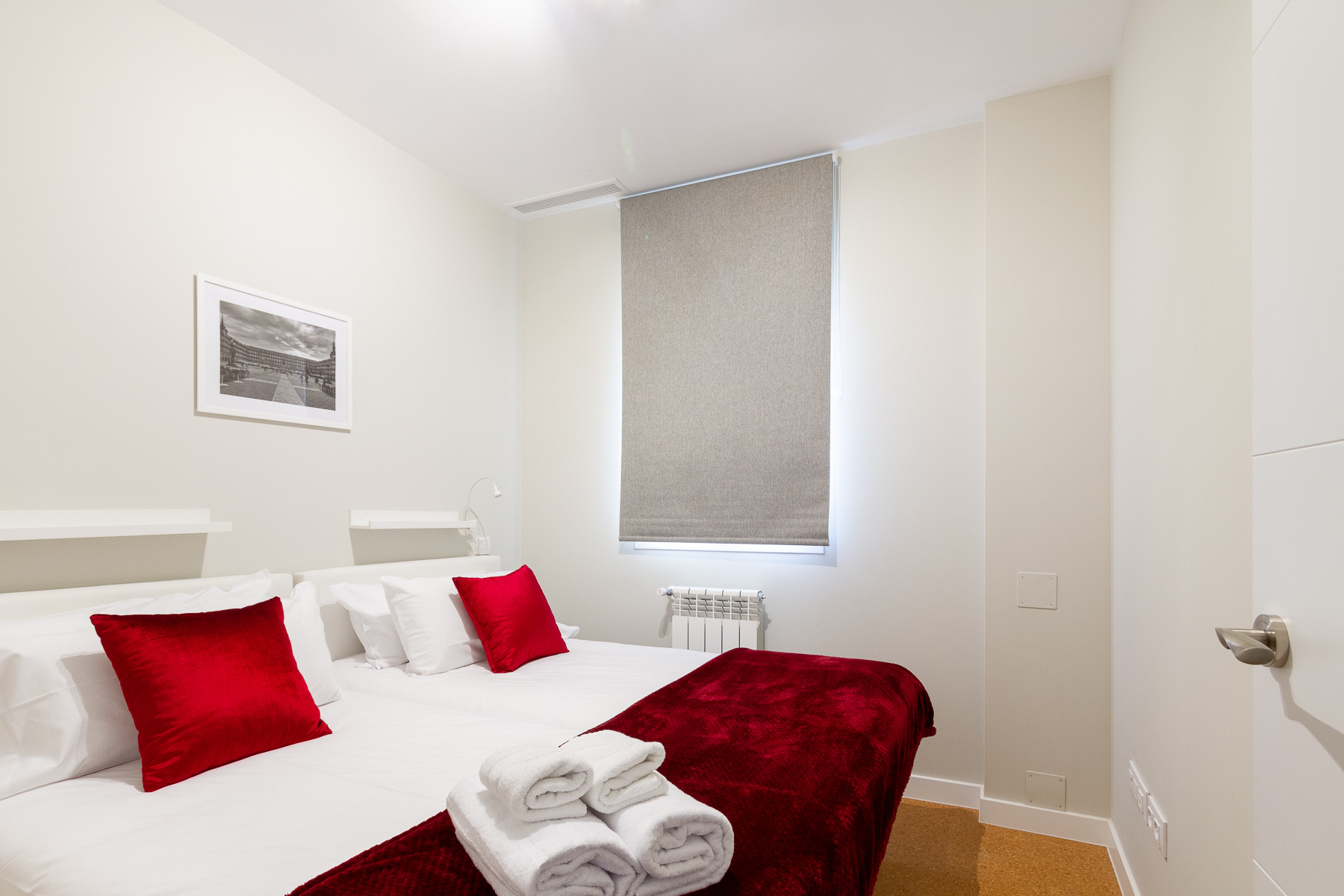 Beds at the Calle Ibiza Apartments