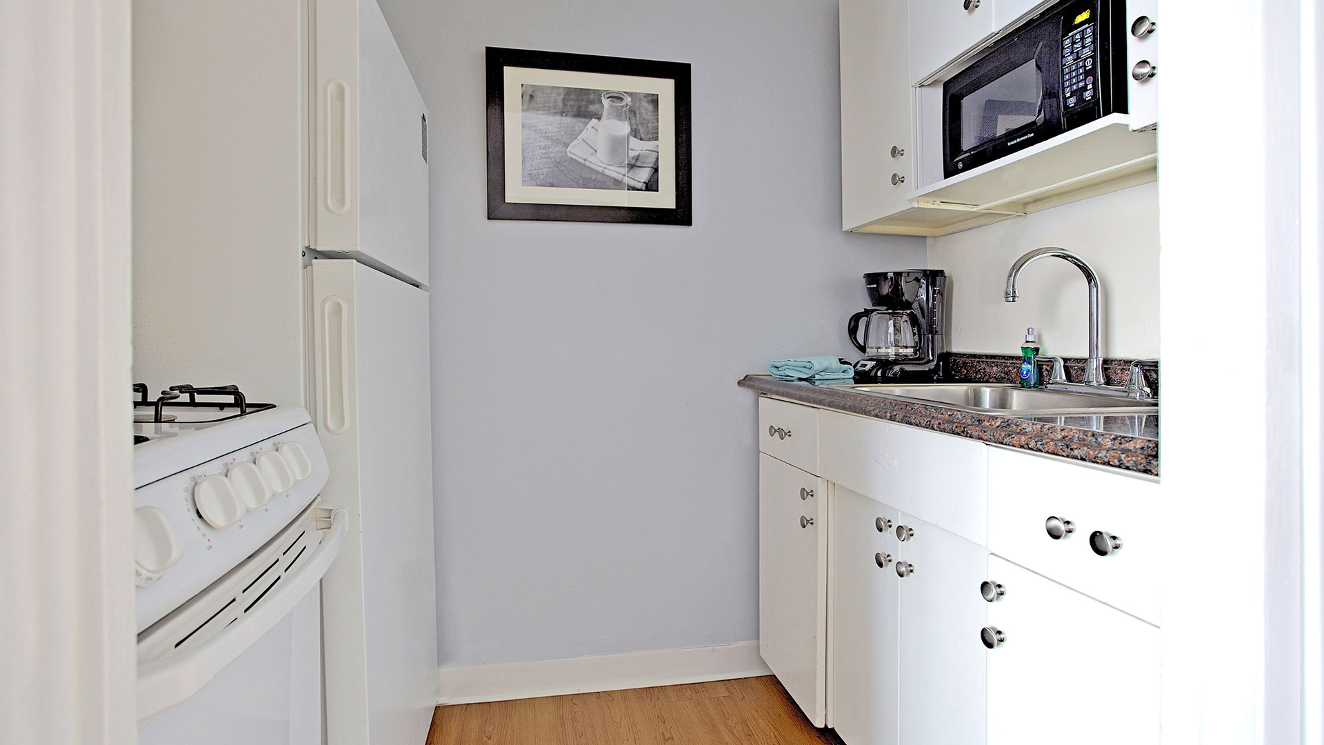 Kitchen at Shadyside Apartment