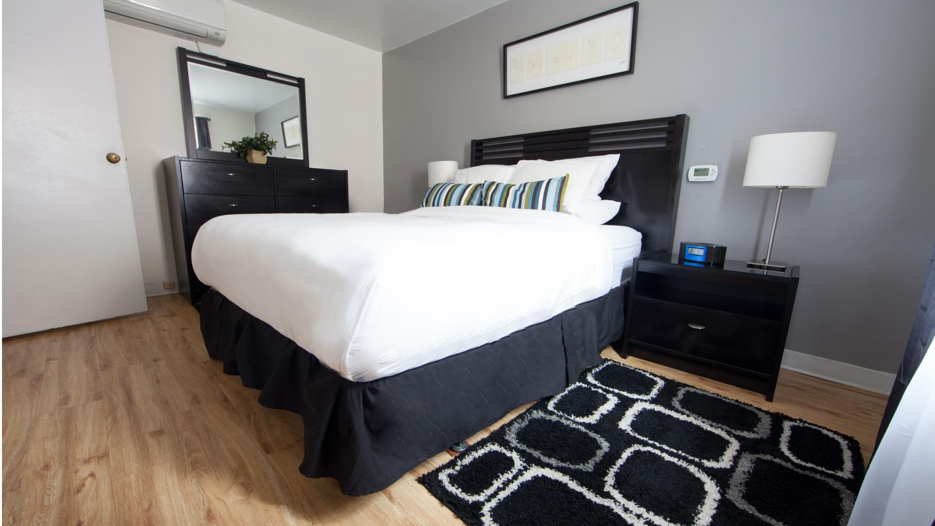 Bedroom at Shadyside Apartment