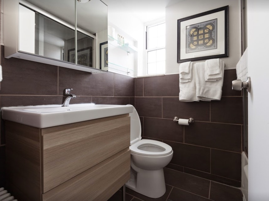 Bathroom at Shadyside Apartment