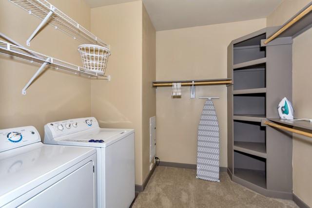 Laundry Facilities at Elan City Lights Apartment