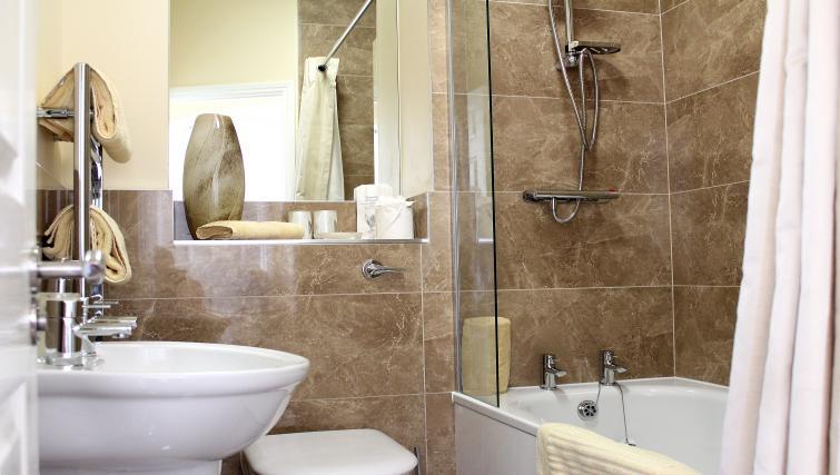 Bathroom in St Davids Apartments