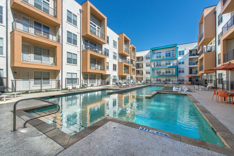Pool at Vibe Medical District Apartment