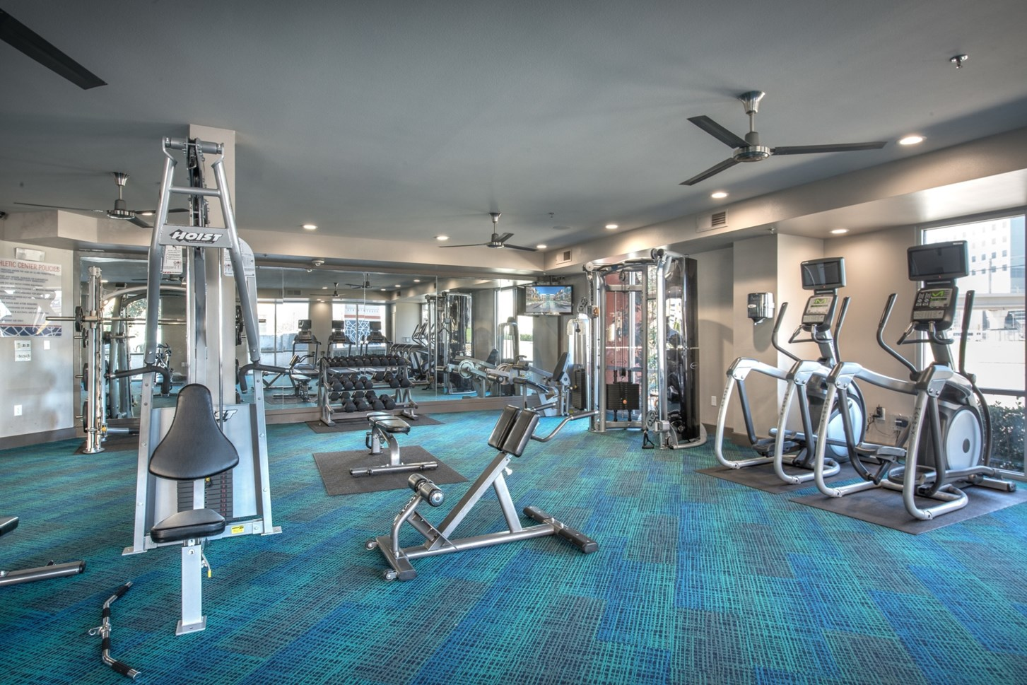 Fitness Centre at Vibe Medical District Apartment