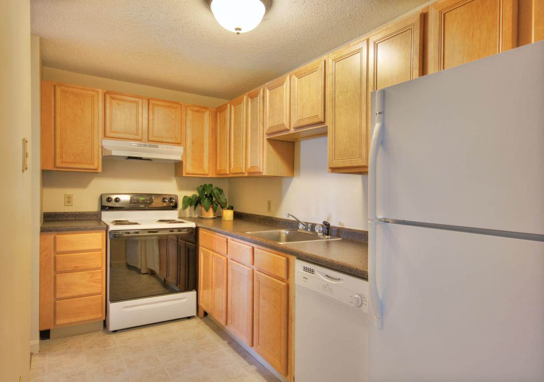 Kitchen at Princeton Place Apartment