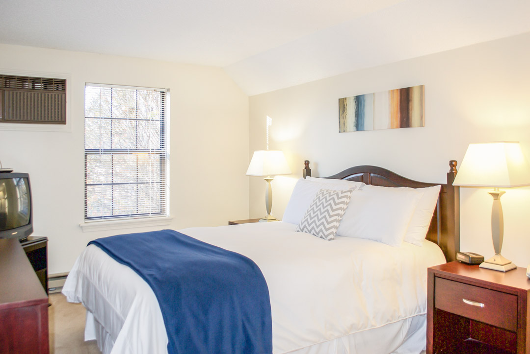 Bedroom at Princeton Place Apartment