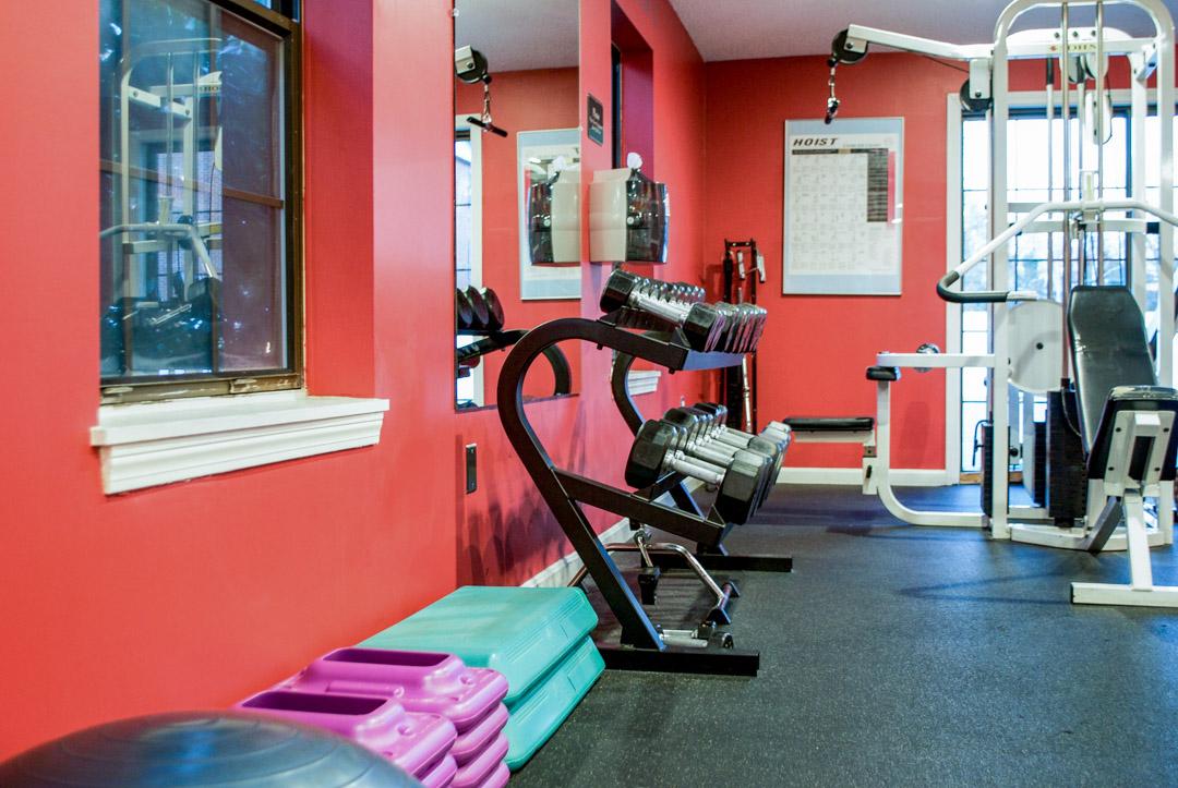 Gym at Princeton Place Apartment