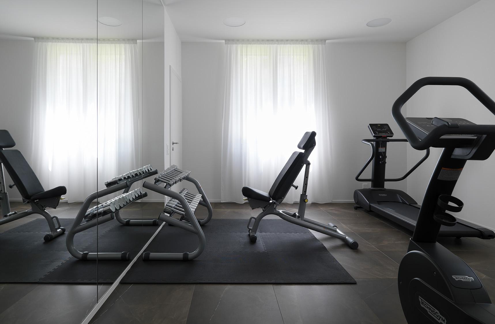 Gym ta Smart Living Lugano Apartments