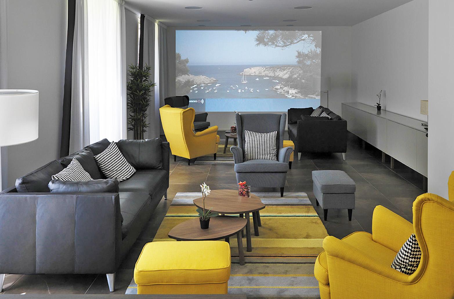 Communal area at Smart Living Lugano Apartments