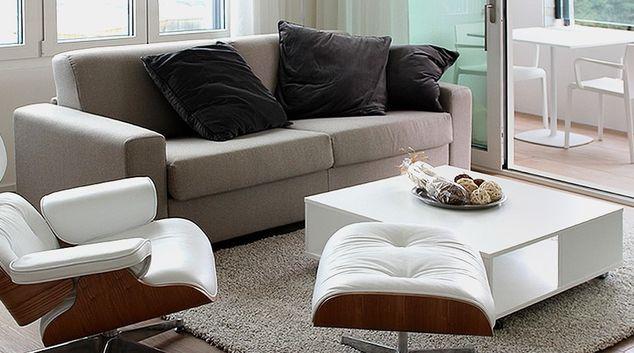 Living room at Smart Living Lugano Apartments