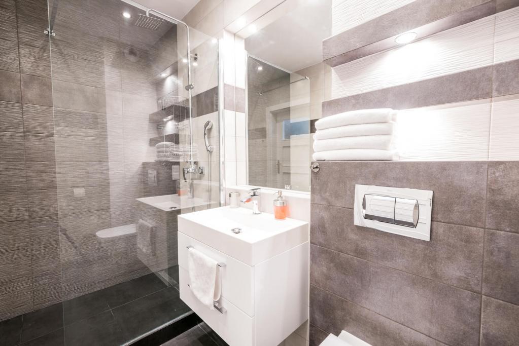 Bathroom at Sikorskiego Apartments