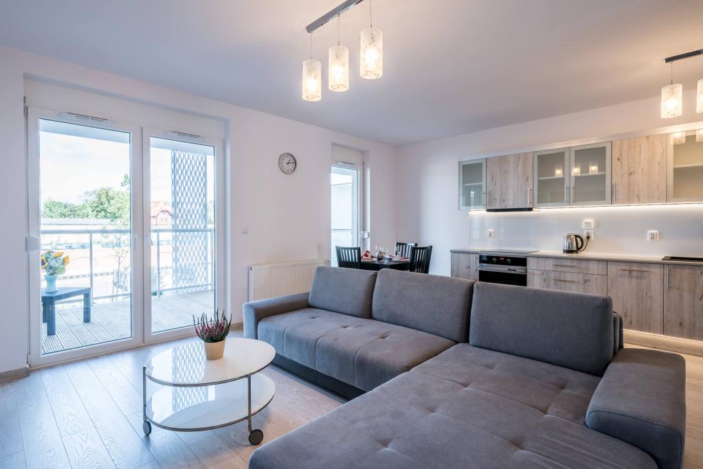 Sofa at Sikorskiego Apartments