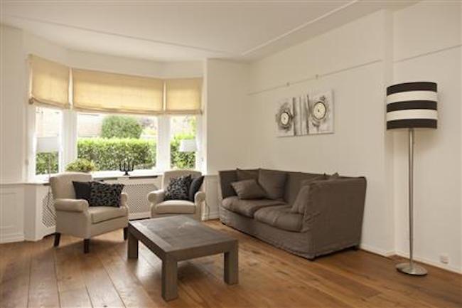 Living room at Royal Nassau Apartment
